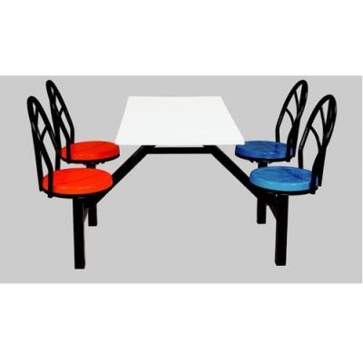 玻璃钢餐桌椅 员工餐桌椅