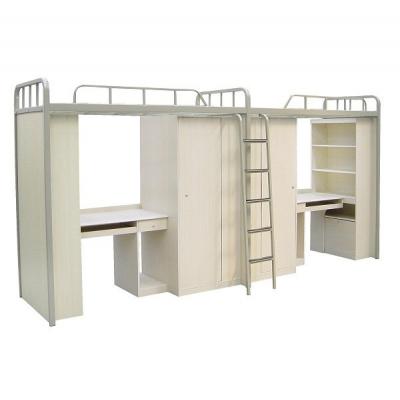 天津铁架床|公寓床带书桌|天津家具定做