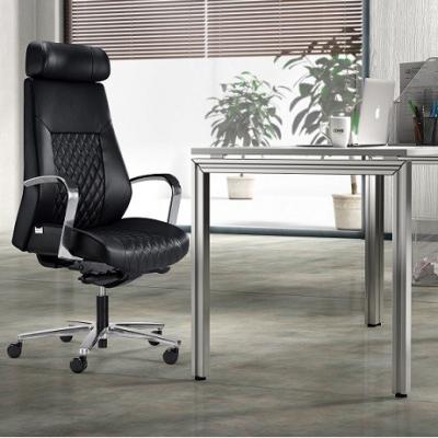 牛皮老板椅|天津高端座椅厂家