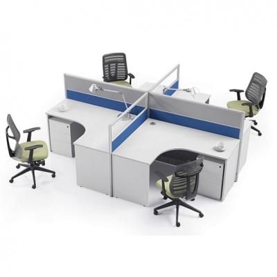天津屏风办公桌|办公室屏风工位